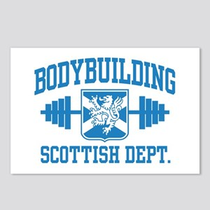 Scottish Bodybuilding Postcards (Package of 8)