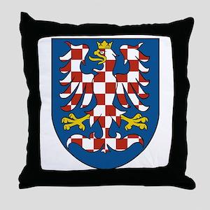 Moravia Coat of Arms Throw Pillow