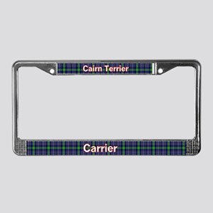 Cairn Terrier Person License Plate Frame