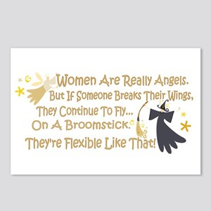 Women Are Like Angels Postcards (Package of 8)