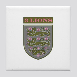 Three Lions Tile Coaster