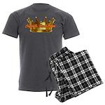 Infinite Funds Crown Link Men's Charcoal Pajamas