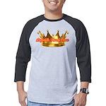 Infinite Funds Crown Link Mens Baseball Tee