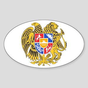 Armenia Coat of Arms Sticker (Oval)
