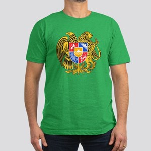 Armenia Coat of Arms (Front) Men's Fitted T-Shirt
