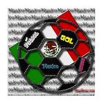 Futbol Mexicano Tile Coaster