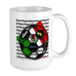 Futbol Mexicano Large Mug