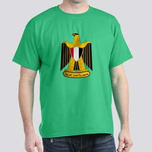 Egypt Coat of Arms (Front) Dark T-Shirt
