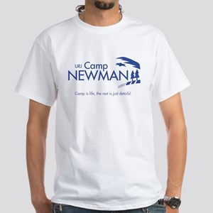 """Camp Newman / Camp is Life"" White T-Shirt"