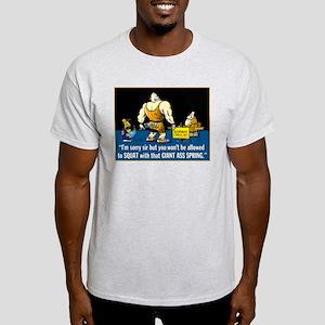 BARBENDERZ Squat Spring Ash Grey T-Shirt