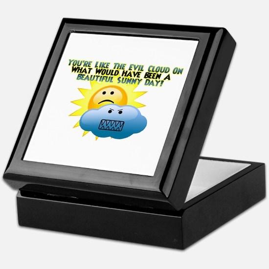 Evil Cloud Keepsake Box