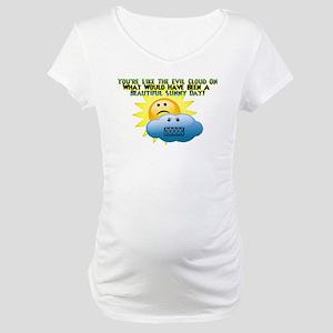 Evil Cloud Maternity T-Shirt