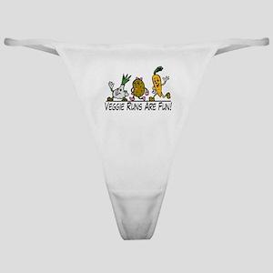 Veggie Runs Classic Thong