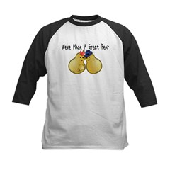 Great Pear Kids Baseball Jersey