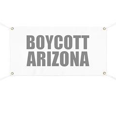 Boycott Arizona Banner