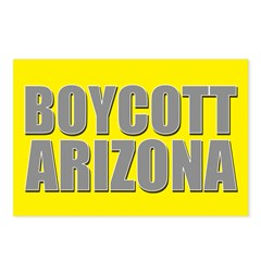 Boycott Arizona Postcards (Package of 8)