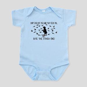 Bite The Hand Infant Bodysuit