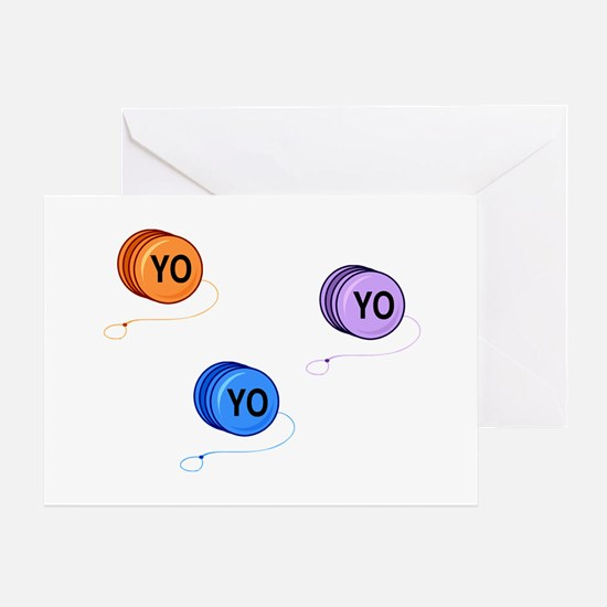 Yo Yo Yo Greeting Card