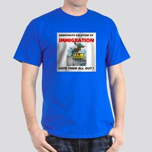 ILLEGAL VOTERS Dark T-Shirt