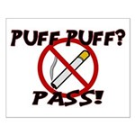 Puff Puff Pass Small Poster