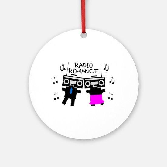 Radio Romance Ornament (Round)
