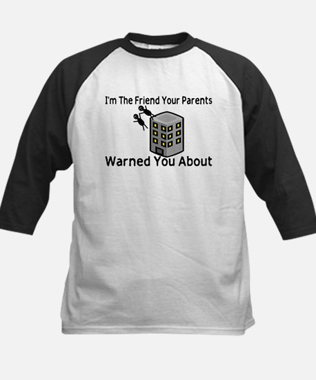 Parents Warned You Kids Baseball Jersey