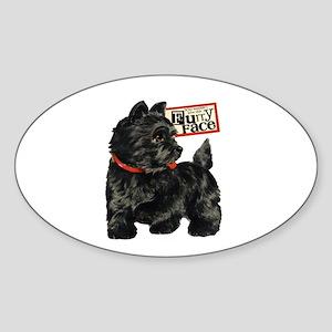 Terrier Sticker (Oval)