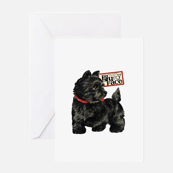 Terrier Greeting Card