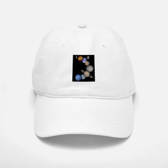 Our Solar System Baseball Baseball Cap