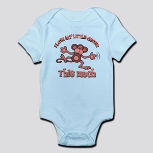 I love my little sister Infant Bodysuit