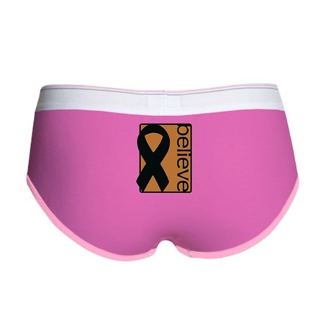Copper (Believe) Ribbon Women's Boy Brief
