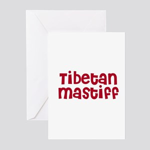 Tibetan Mastiff Greeting Cards (Pk of 10)