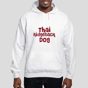 Thai Ridgeback Dog Hooded Sweatshirt