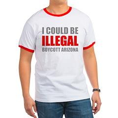 Could Be Illegal - Boycott AZ Ringer T
