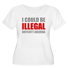 Could Be Illegal Anti-AZ Women's Plus Size Scoop N