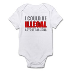 Could Be Illegal - Boycott AZ Infant Bodysuit
