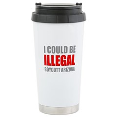 Could Be Illegal - Boycott AZ Stainless Steel Trav