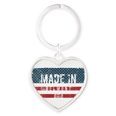Made in Belmont, Ohio Keychains