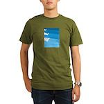 Waves - Organic Men's T-Shirt (dark)