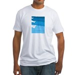 Waves - Fitted T-Shirt