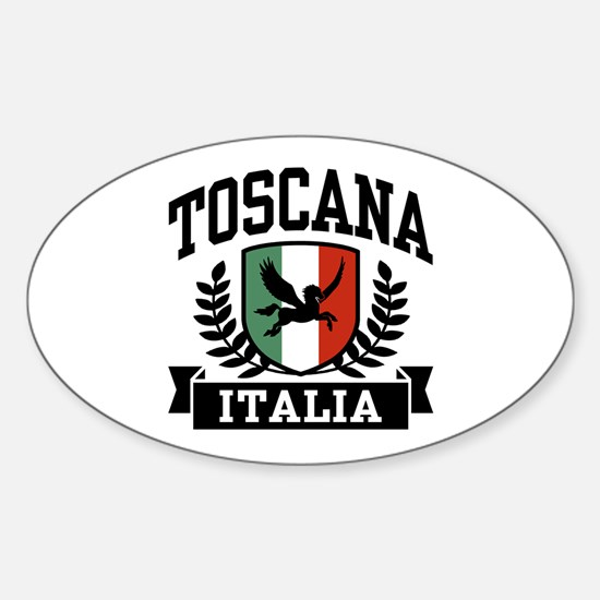 Toscana Italia Sticker (Oval)
