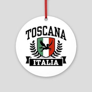 Toscana Italia Ornament (Round)