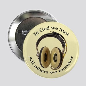 "In God we trust 2.25"" Button"