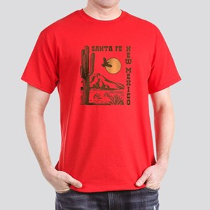Santa Fe New Mexico Dark T-Shirt