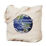 Infinite Funds Worldwide Link Tote Bag