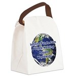 Infinite Funds Worldwide Link Canvas Lunch Bag