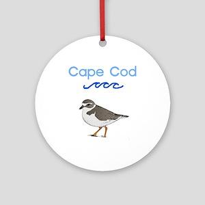Cape Cod Piping Plover Ornament (Round)