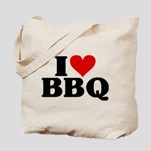 I Heart BBQ Tote Bag