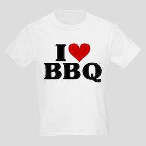 I Heart BBQ Kids Light T-Shirt