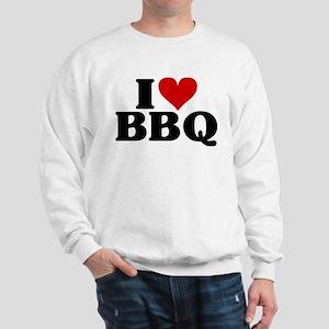 I Heart BBQ Sweatshirt